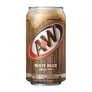 A&W -  Root Beer -  1 x 355 ml