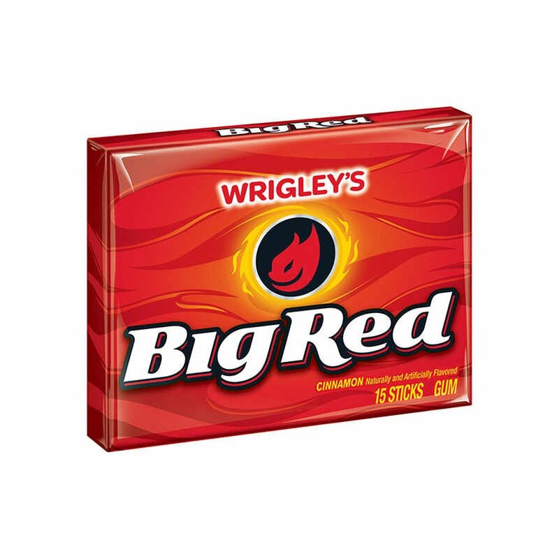 Wrigleys Big Red - Zimt Kaugummi - 15 Stück