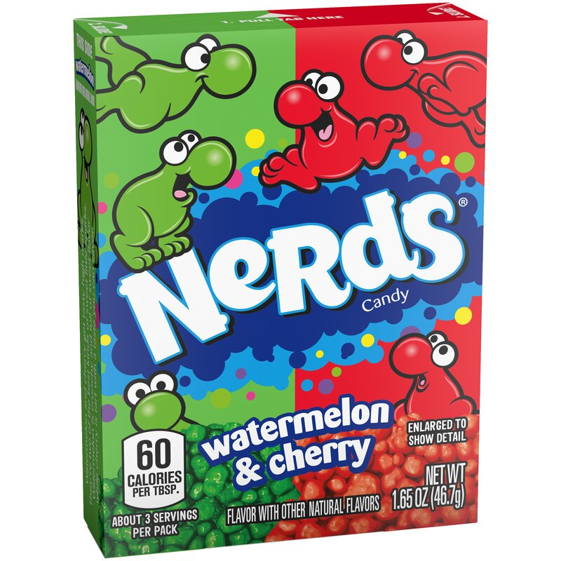 Nerds Wild Cherry - Watermelon - 46,7g
