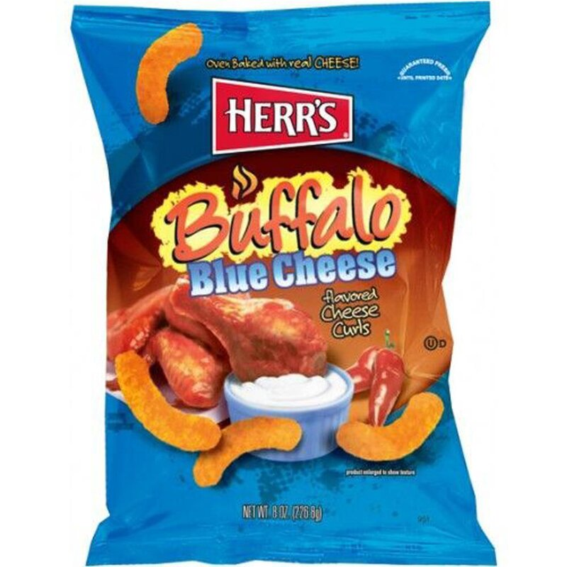 Herrs - Buffalo Blue Cheese Curls - 199g
