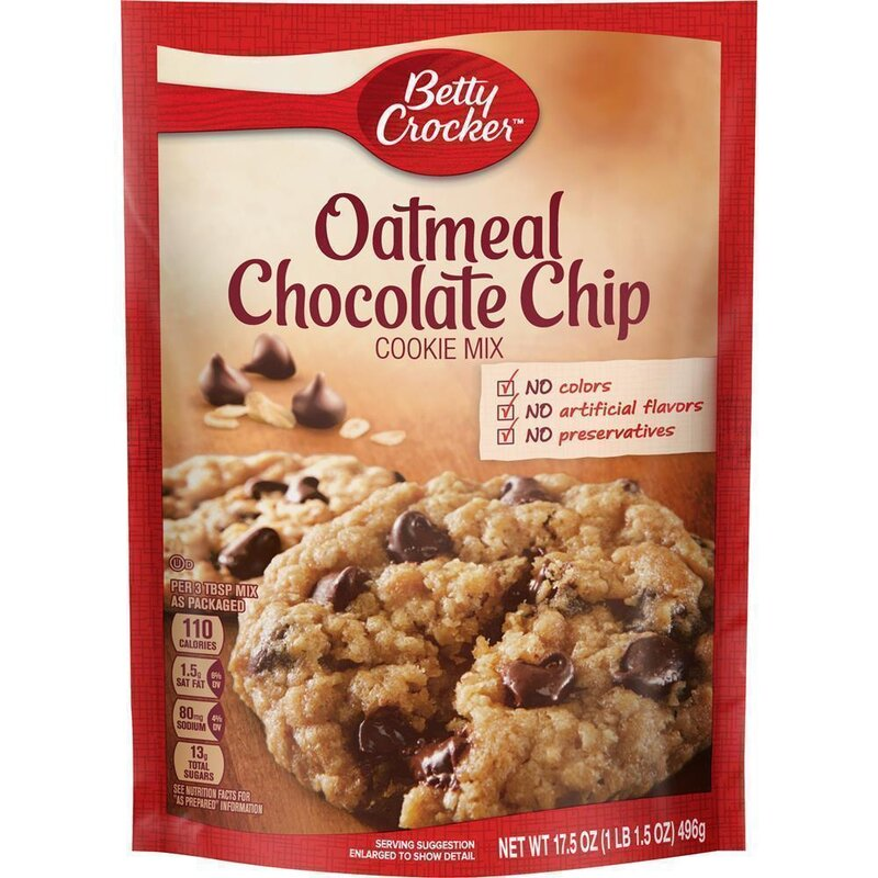 Betty Crocker - Oatmeal Chocolate Chip Cookie Mix - 496 g