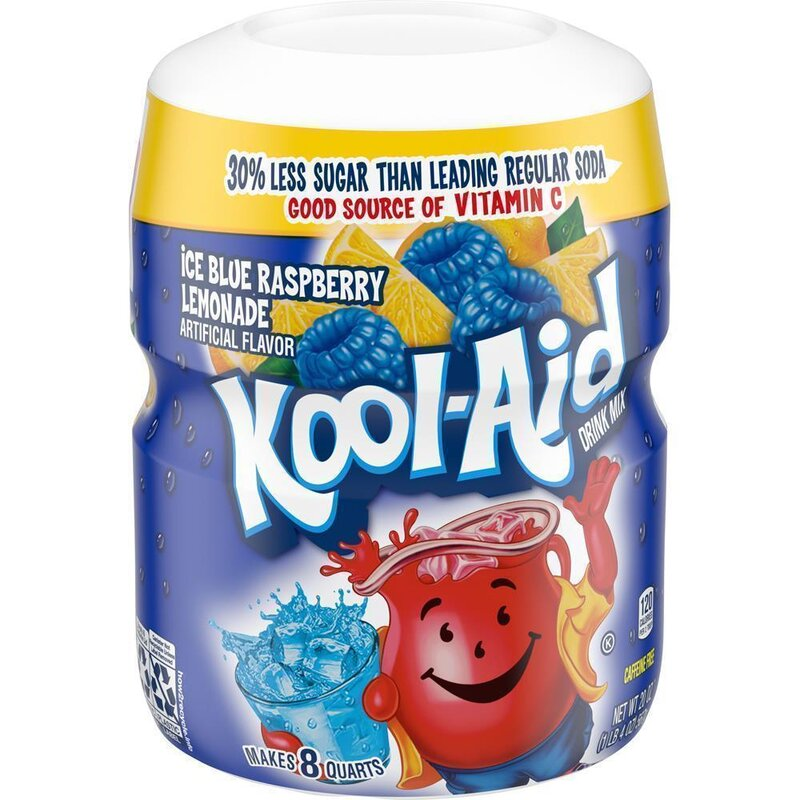 Kool-Aid Drink Mix - Blue Raspberry - 1 x 538 g