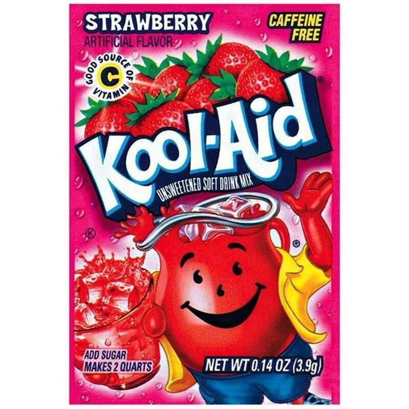 Kool-Aid Drink Mix - Strawberry - 4,2 g