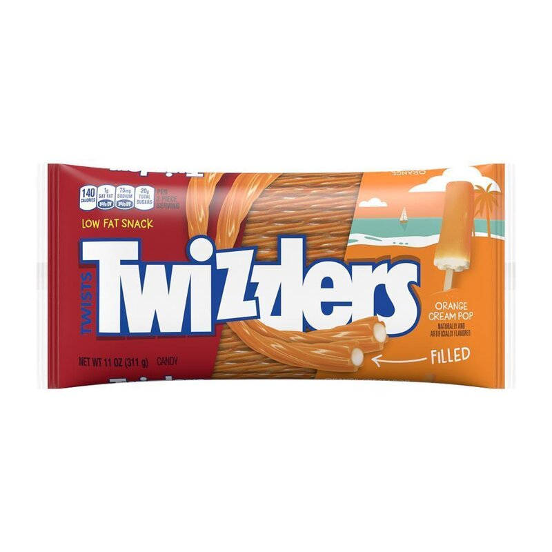 Twizzlers - Orange Cream Pop - 1 x 351g