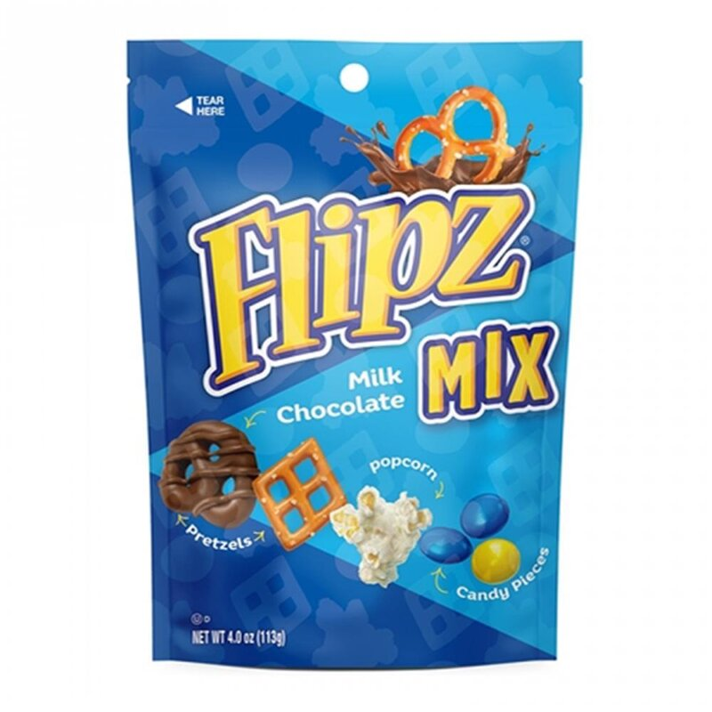 Flipz Mix - Milk Chocolate - 1 x 113g