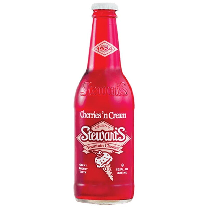 Stewart´s - Cherriesn Cream - 1 x 355ml