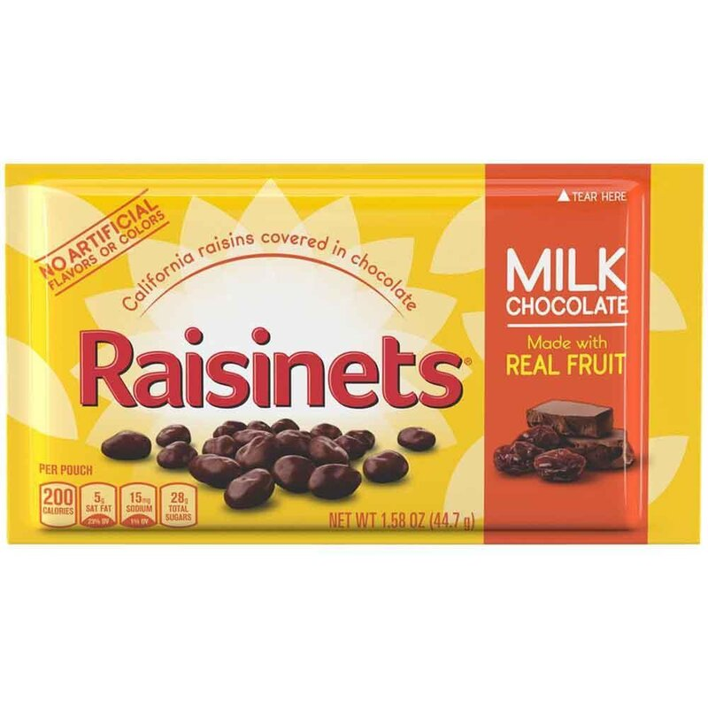 Nestle - Raisinets - Milk Chocolate - 44,7g