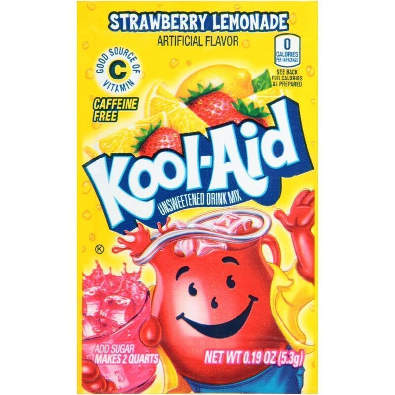 Kool-Aid Drink Mix - Strawberry Lemonade - 5,3 g