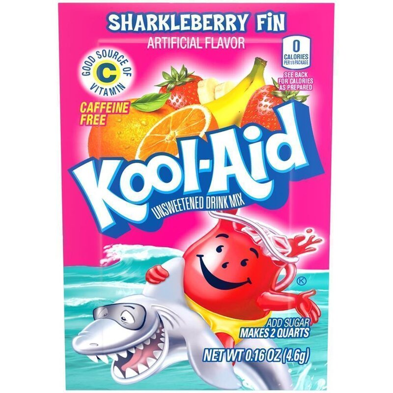 Kool-Aid Drink Mix - Sharkleberry Fin - 4,6 g