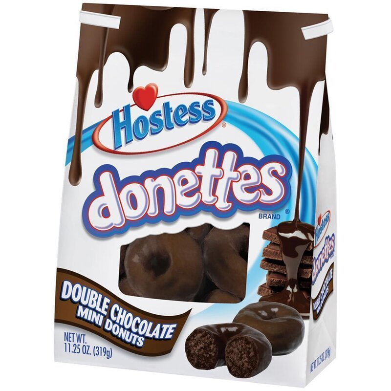 Hostess Donettes - Double Chocolate Donuts - 6 x 319g
