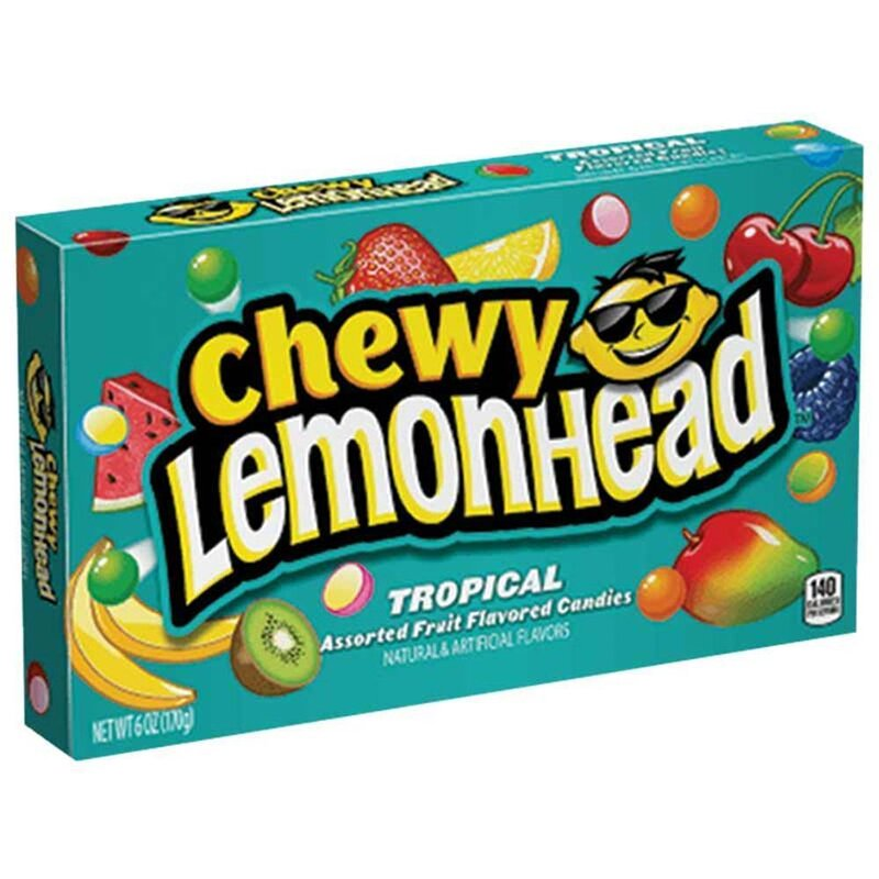 Lemonhead - Tropical Chewy Candy - 23g