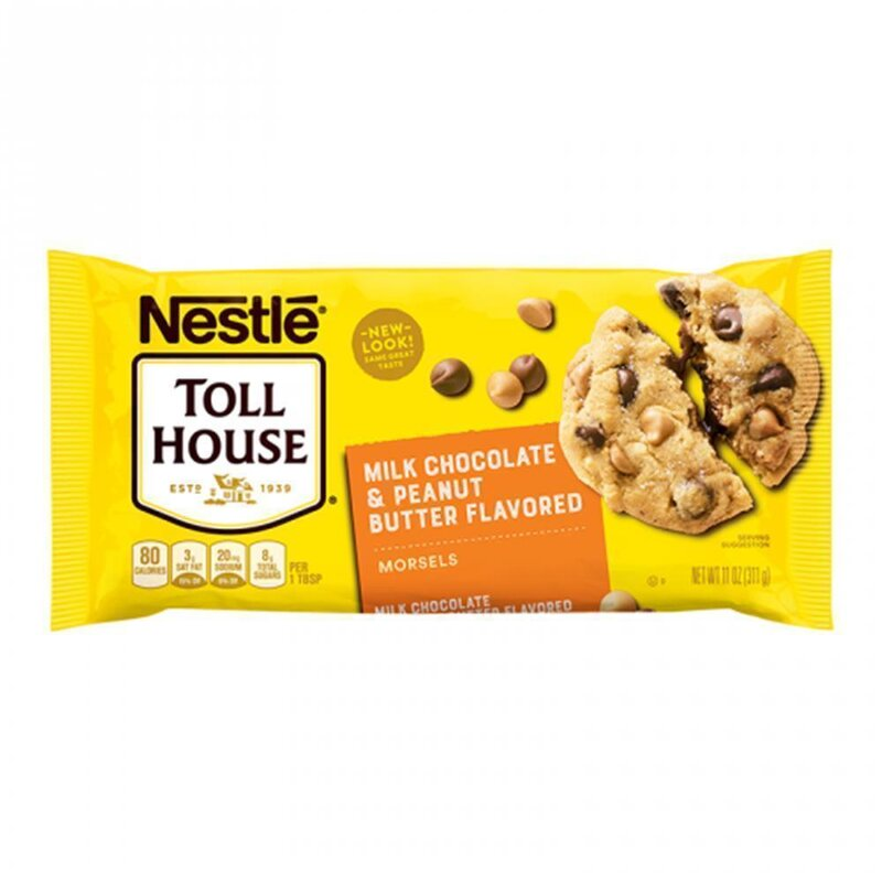 Nestle - Toll House Milk Chocolate & Peanut butter - 311g