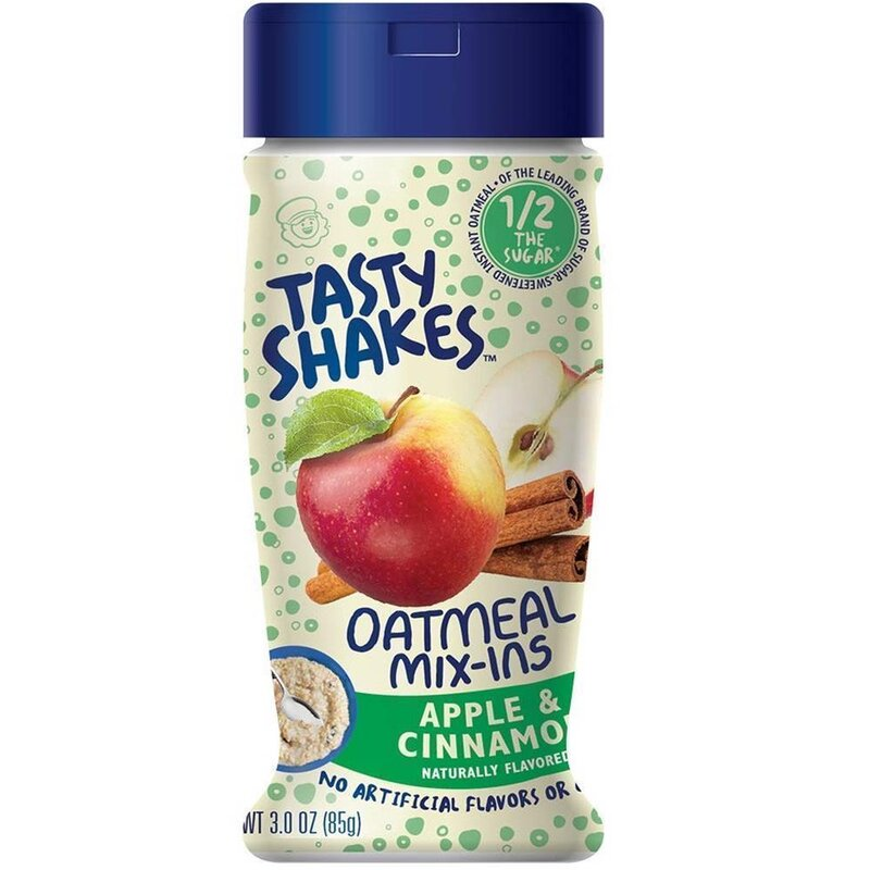 Tasty Shakes Oatmeal Mix Ins - Apple Cinnamon - 85g