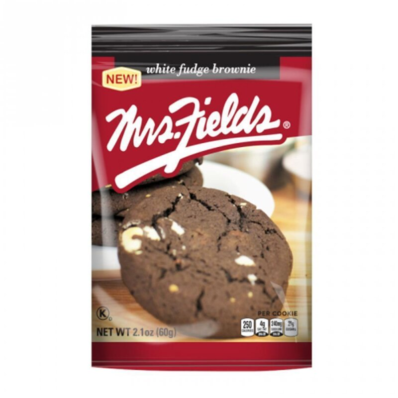 Mrs. Fields - White Fudge Brownie Cookies - 60g