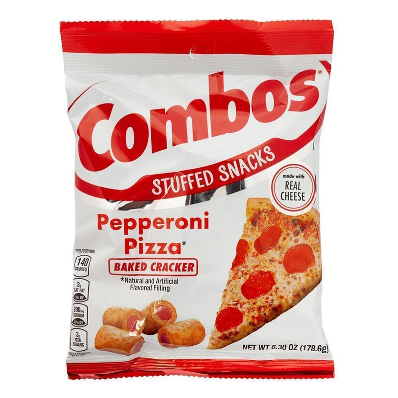 Combos Baked Cracker - Pepperoni Pizza - 178,6g