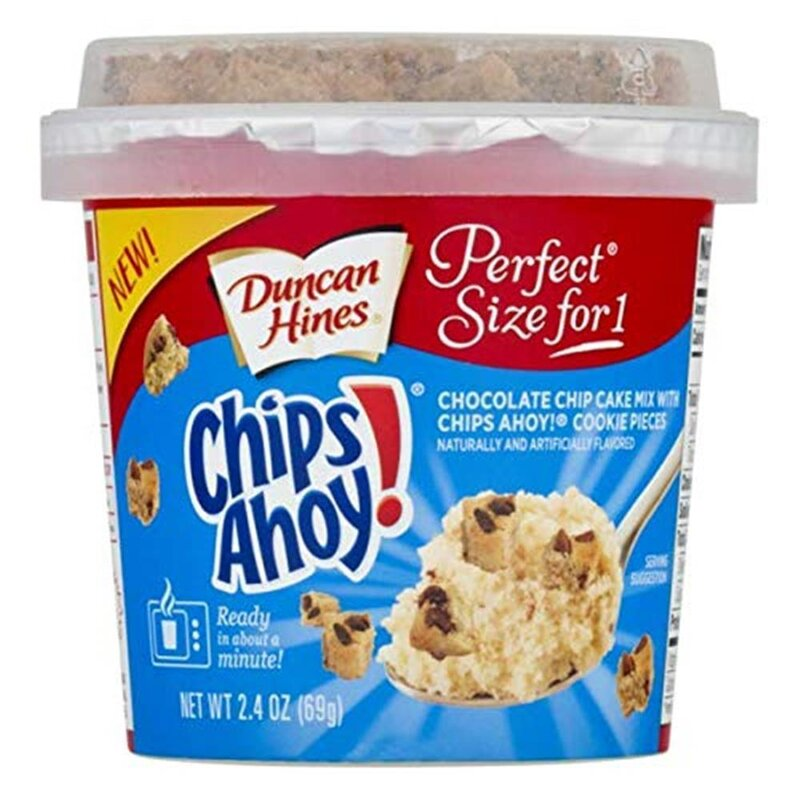 Duncan Hines Chips Ahoy - Chocolate Chip Cake - 69g