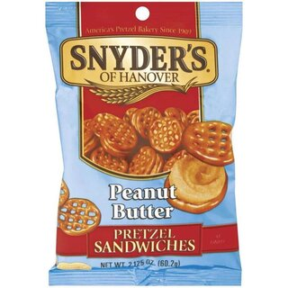 Snyders of Hanover - Peanut Butter Prezel Sandwiches ( 60,2g)