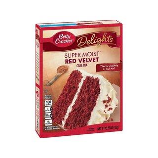 Betty Crocker Super Moist Red Velvet Cake Mix 432g Usa