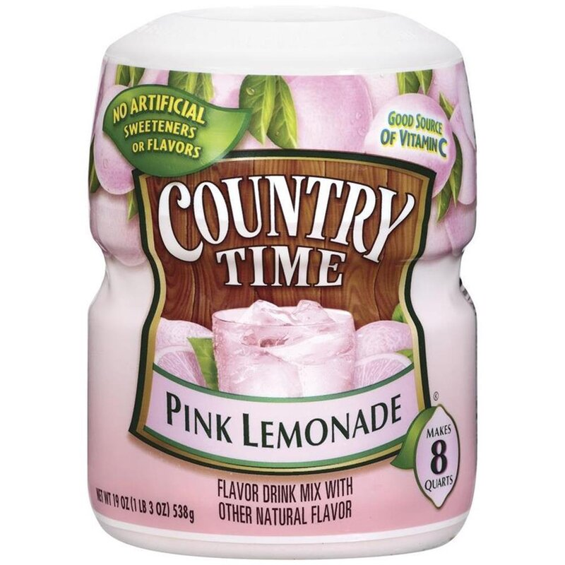 Country Time - Pink Lemonade - 1 x 538 g