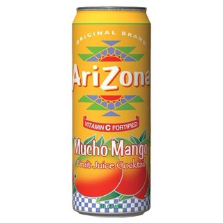 Arizona Mucho Mango with all natural flavours (12x 680ml)