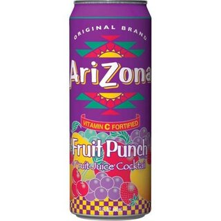 Arizona Fruit Punch with all natural flavours (24x 680ml)