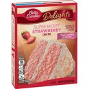 Betty Crocker - Super Moist - Strawberry Cake Mix (432g.)