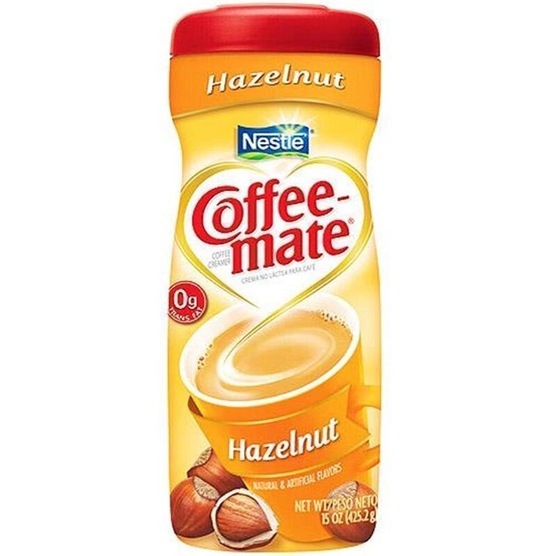 Nestle - Coffee-Mate - Hazelnut - 1 x 425 g