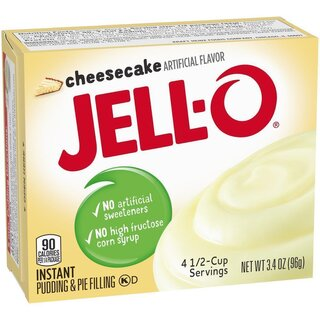 Jell-O Cheesecake Instant Pudding & Pie Filling (96g)
