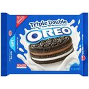 Triple Double OREO - Chocolate Sandwich Cookies (371g)