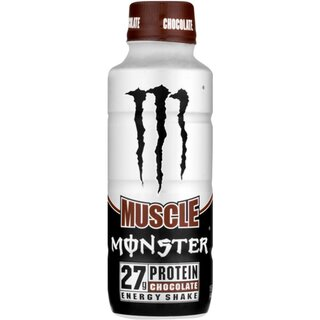 Monster USA Muscle Energy Shake - Chocolate 1 x 444 ml