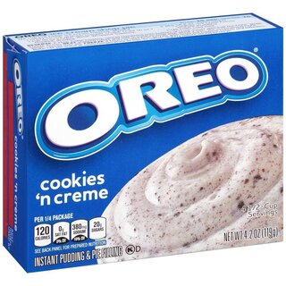 Jell-O - Oreo Cookies And Cream Instant Pudding & Pie Filling - 1 x 119 g