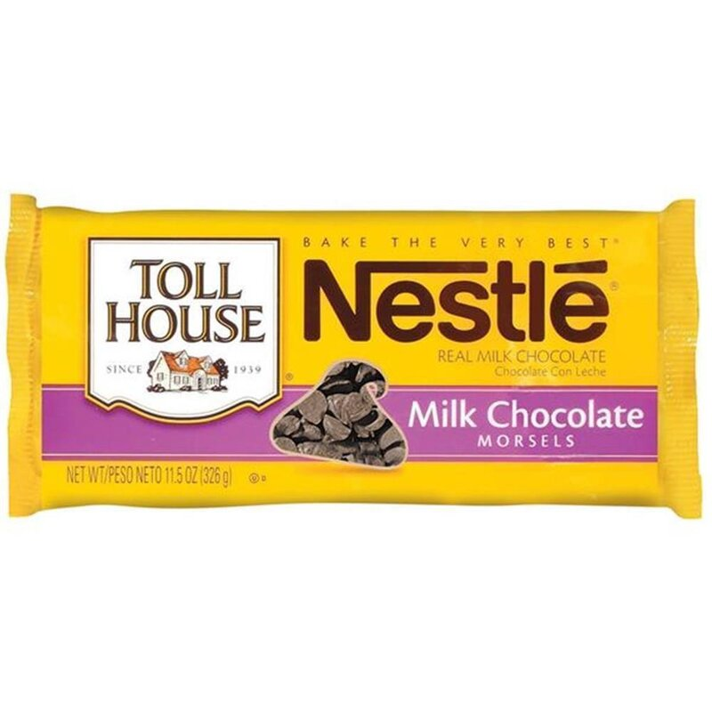 Nestle - Toll House Milk Chocolate Morsels - 1 x 326 g