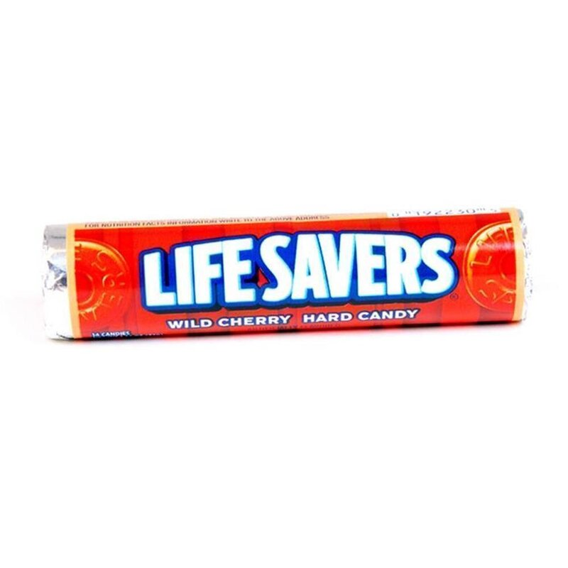 Lifesavers Wild Cherry - 1 x 32g