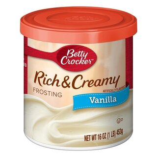 Betty Crocker Rich & Creamy - Vanilla Frosting (453g)