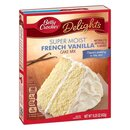 Betty Crocker - Super Moist - French Vanilla Cake Mix (432g)