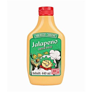 Jalapeno Squeeze Cheese Microwaveable (440g)