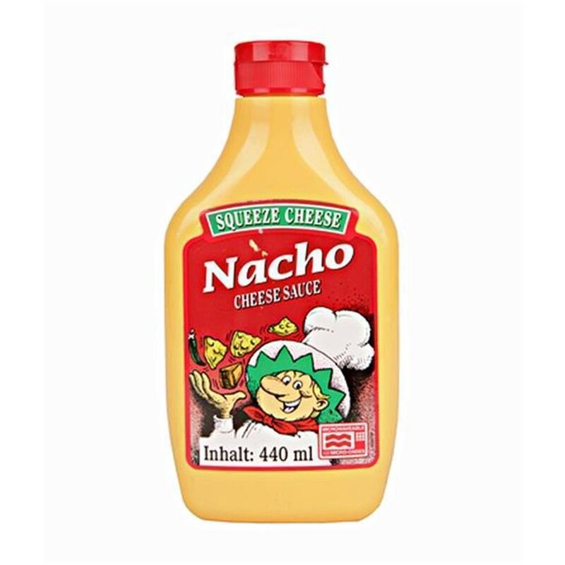 Nacho Squeeze Cheese Microwaveable (440g)