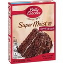 Betty Crocker - Super Moist - Devils Food Cake Mix (432g)