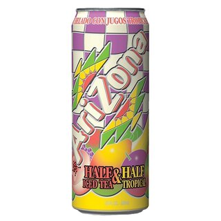 Arizona Half & Half Iced Tea & Tropical (12x 680ml)
