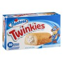 Hostess Twinkies 10x Golden Sponge Cake with Creamy...