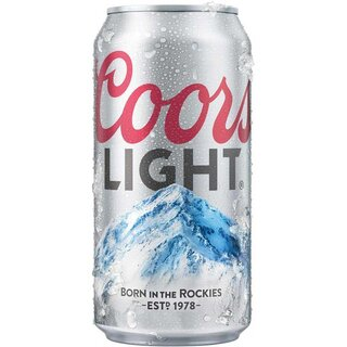 Coors Light 1 x 355 ml