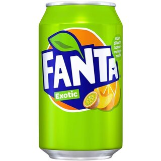 Fanta Exotic 12 x 330 ml - EU