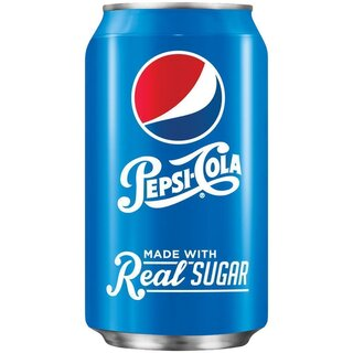 Pepsi-Cola made with real Sugar 1 x 355 ml