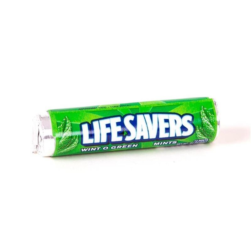 Lifesavers Wint-O-Green - 1 x 24g