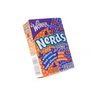 Wonka Nerds Wildberry - Peach (24x 46,7g)
