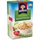 Quaker Instant Oatmeal - Apple Cinnamon (10x43g)