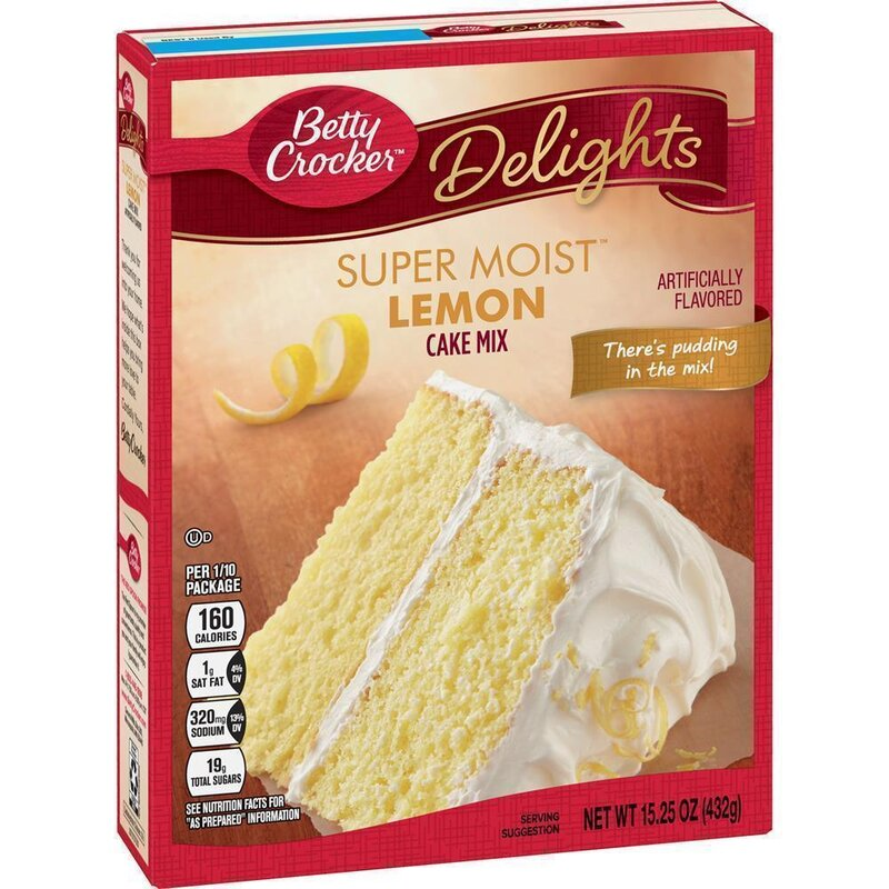 Betty Crocker - Super Moist - Lemon Cake Mix - 1 x 432 g