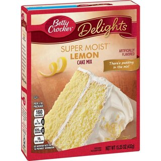 Betty Crocker - Super Moist - Lemon Cake Mix (432g)