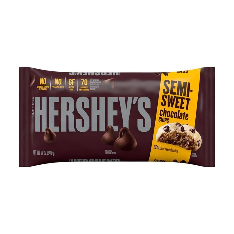 Hersheys - Semi-Sweet Chocolate Chips - 1 x 340 g