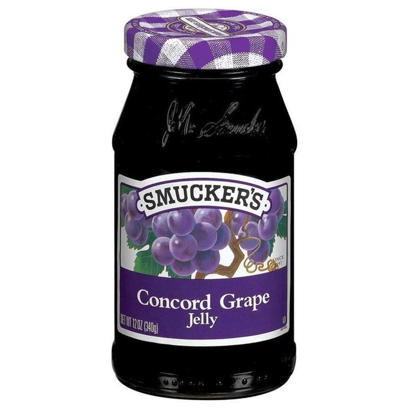 Smuckers Concord Grape Jelly - Glas (340g)
